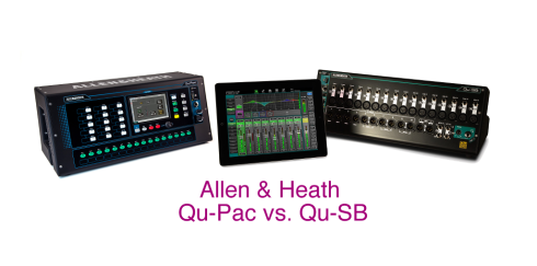 Allen & Heath Qu-Pac vs. Qu-SB