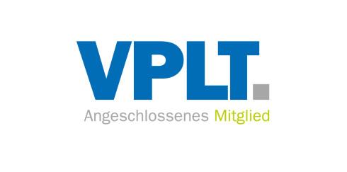 Wir sind VPLT-Mitglied!