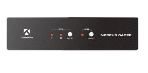 Effiziente Audiolösung für Schulungsräume: Nereus 0402E von Tendzone