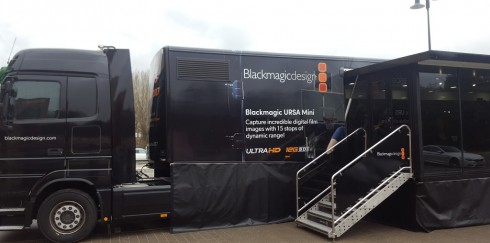 Besuch bei der Blackmagic Design – European Tour 2017