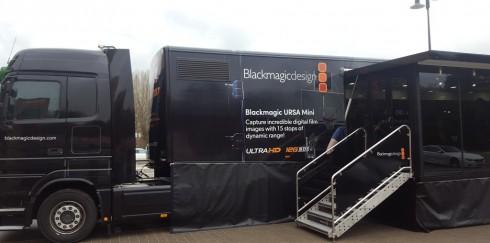 Besuch bei der Blackmagic Design – European Tour 2017