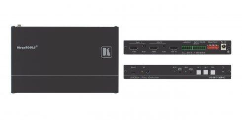 Neu in der Vermietung: Kramer 2:1 HDMI Umschalter (4K UHD)