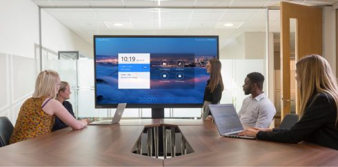 Clevertouch ab sofort zertifizierter Zoom Rooms Hardware-Partner